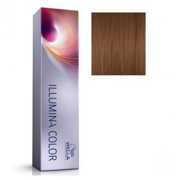 Vopsea Permanenta - Wella Professionals Illumina Color Nuanta 6/37 poza