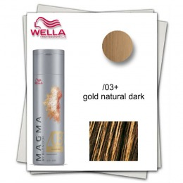 Pudra Nuantatoare pentru Suvite - Wella Professionals Magma by Blondor /03 + Pigmented Lightener 120 gr