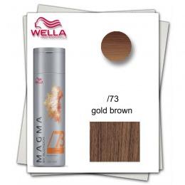 Pudra Nuantatoare pentru Suvite - Wella Professionals Magma by Blondor /73 Pigmented Lightener 120 gr