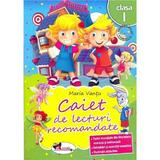 Caiet de lecturi recomandate clasa 2 - Maria Vantu, editura Aramis
