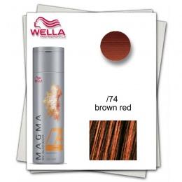 Pudra Nuantatoare pentru Suvite - Wella Professionals Magma by Blondor /74 Pigmented Lightener 120 gr