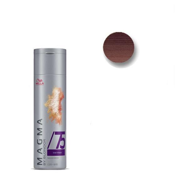 Pudra Nuantatoare pentru Suvite - Wella Professionals Magma by Blondor /75 Pigmented Lightener 120 gr imagine produs
