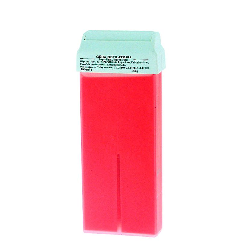 Cartus Ceara Epilat Unica Folosinta Roz - Prima Liposoluble Classic Wax Titanium With Applicator 100 gr imagine produs