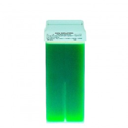 Cartus Ceara Epilat Unica Folosinta Azulena - Prima Liposoluble Classic Wax Green With Applicator 100 gr