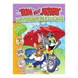 Tom si Jerry - Aniversare buclucasa - Poveste cu autocolante, editura Litera