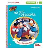 Disney. Mickey si pilotii de curse - Ma joc si descopar - Caiet de activitati. Grupa mijlocie, editura Litera