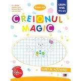 Creionul magic - Caiet de activitati - Grupa mare 5-6 ani - Nina Beldie, editura Litera