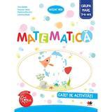 Matematica - Caiet de activitati - Grupa mare 5-6 ani - Nina Beldie, editura Litera