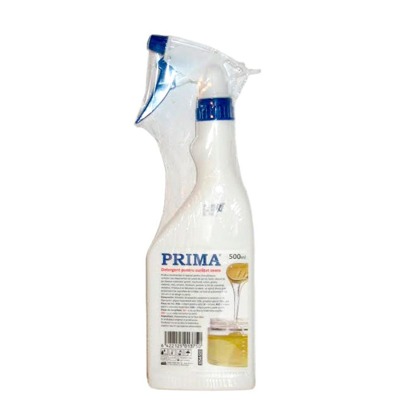 Solvent Spray Indepartare Urme de Ceara - Prima Solvent Spray for Wax Removing, Persistant Stains, Graffiti 500 ml esteto.ro
