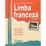 Limba franceza - Clasa 10 - Manual. Limba moderna 2 - Doina Groza, Gina Belabed, editura Corint