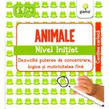 Iq Focus - Animale. Nivel Initiat 5-6 Ani