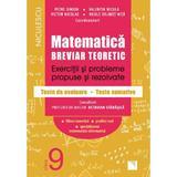 Matematica - Clasa 9 - Breviar teoretic (filiera teoretica, profilul real, mate-info) - Petre Simion, editura Niculescu