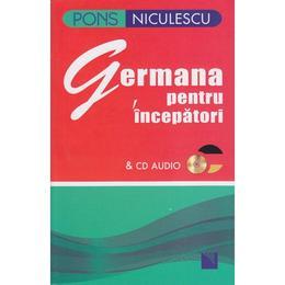 Germana pentru incepatori CD CD audio - Angelika Lundquist-Mog, editura Niculescu