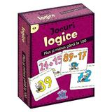 Jocuri logice - Plus si minus pana la 100, editura Didactica Publishing House