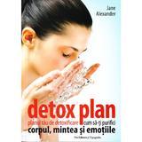 Detox plan. Planul tau de detoxifiere. Cum sa-ti purifici corpul, mintea si emotiile- Jane Alexander, Pro Editura Si Tipografie