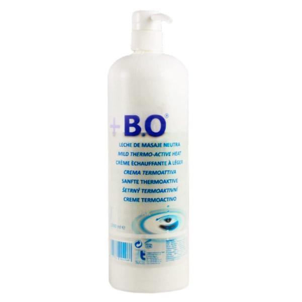 Lotiune Masaj Corporal - +B.O Mild Thermo-Active Heat Lotion 1000 ml imagine produs