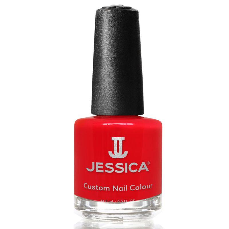 Lac de Unghii - Jessica Custom Nail Colour 208 Red Delight, 14.8ml imagine produs