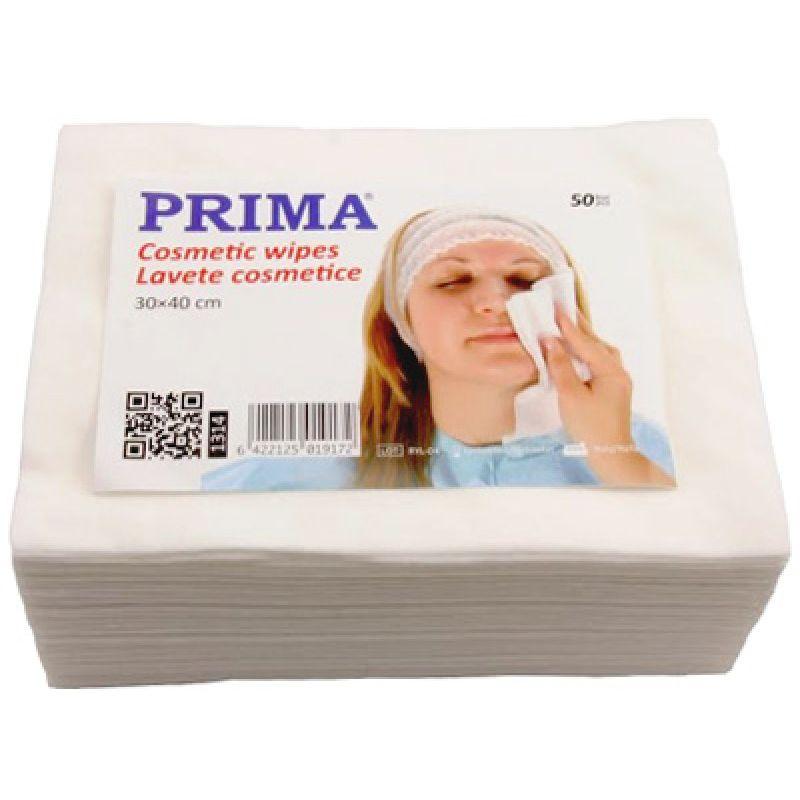 Lavete Cosmetice pentru Fata - Prima Cosmetic Wipes 50 buc imagine produs