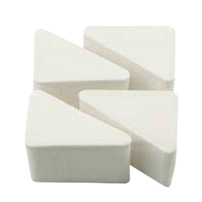 Buretei Albi Aplicare Fond de Ten - Prima Triunghiular Sponges for Foundation 4 buc imagine produs