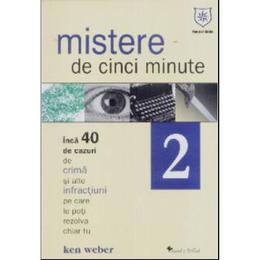 Mistere de cinci minute 2 - Ken Weber, editura Leader Human Resources