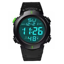 Ceas Barbatesc, curea silicon, digital watch