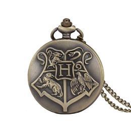 Ceas de buzunar, Harry-Potter Hogwarts School, model Retro Vintage
