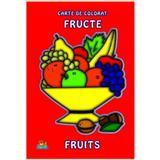Fructe A4 - Carte de colorat, editura Nicol