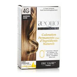 Kit Vopsea Par Bio Golden Brown 4G Aequo Color Eric Favre Paris