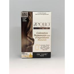 Kit Vopsea par Bio Cafe Creme Blonde 6N Aequo Color Eric Favre Paris