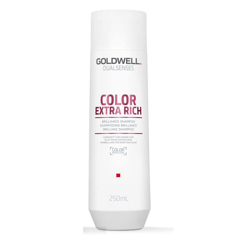 Sampon pentru Par Vopsit - Goldwell Dualsenses Color Extra Rich Brilliance Shampoo 250 ml imagine