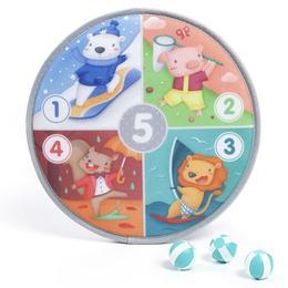 Nimerește ținta și învață numerele 1-5 și anotimpurile - Eurekakids