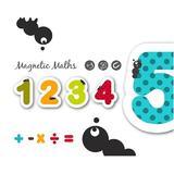 Cifre și semne matematice magnetice din lemn - Eurekakids