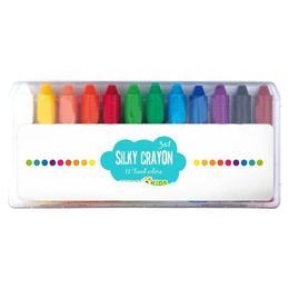 Creioane cerate moi - Silky Crayon - Eurekakids