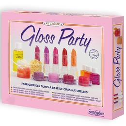 Atelier creaţie Ruj și balsam de buze, Gloss Party - SentoSphere