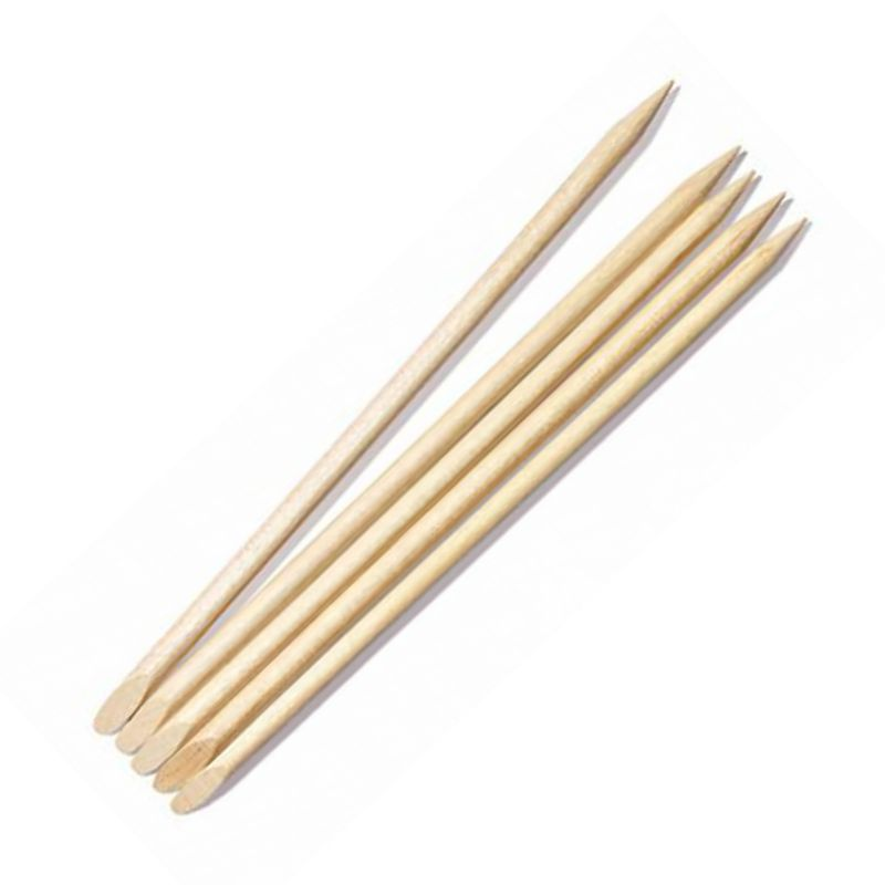 Betisoare Lemn pentru Cuticule - Prima Wooden Cuticle Pusher 100 buc imagine produs