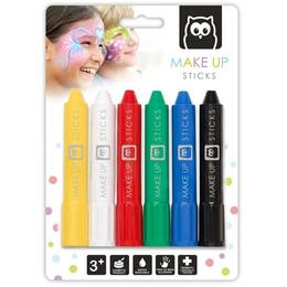 Set creioane dermato pentru pictura pe față - Eurekakids