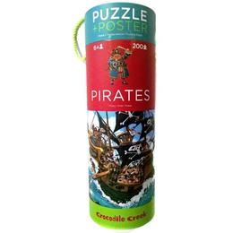 Puzzle + Poster, Piraţi - Crocodile Creek