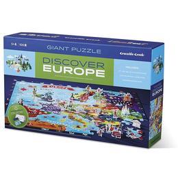Puzzle Educativ, Descoperă Europa - Crocodile Creek