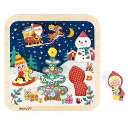 Puzzle Magia Crăciunului - Janod