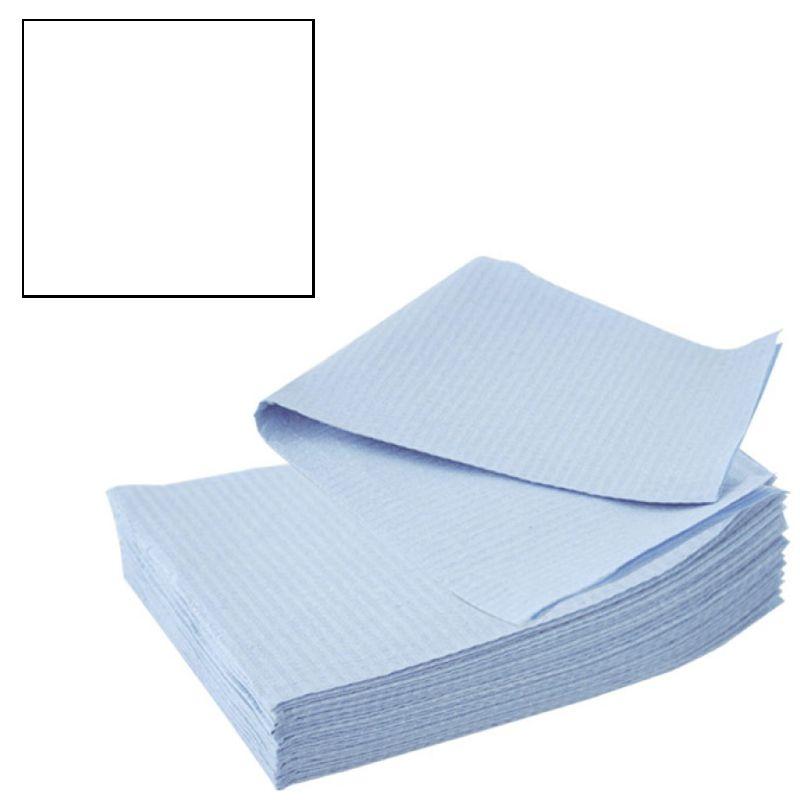 Bavete-Campuri Cosmetice Albe - Prima PE and Paper Medical Towel Tissue 33 x 45 cm imagine produs