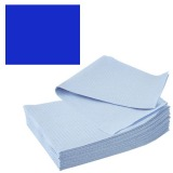Bavete-Campuri Cosmetice Albastre - Prima PE and Paper Medical Towel Tissue 33 x 45 cm