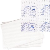 Bavete-Campuri Imprimate Baieti - Prima PE and Paper Medical Towel Tissue for Blue 33 x 45 cm