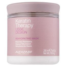 Masca Rehidratanta pentru Netezire - Alfaparf Milano Keratin Therapy Lisse Design Rehydrating Mask, 200ml