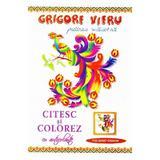 Citesc Si Colorez Cu Autocolante: Pasarea Maiastra - Grigore Vieru
