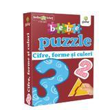 Bebe Puzzle +18 Luni - Cifre, Forme Si Culori