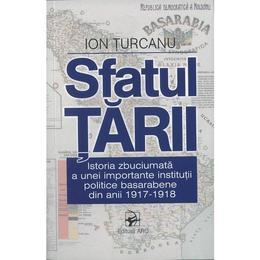 Sfatul Tarii. Istoria institutiei politice basarabene din anii 1917-1918 editura Arc