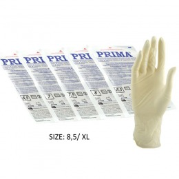 Manusi Sterile Usor Pudrate Marimea Xl Prima Sterile Latex Surgical Light Powered Gloves 8 5