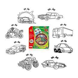 Set creatie pentru pictura Orange Elephant, Cars