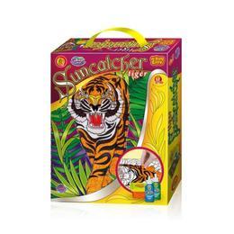 Set creatie pentru modelaj si pictura Orange Elephant, Tiger