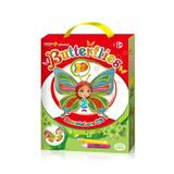 Set creatie pentru pictura Orange Elephant, Butterflies 3D 1